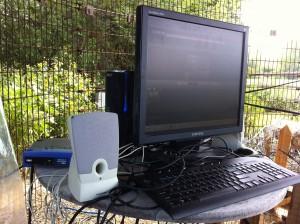 The BunnyCam PC setup